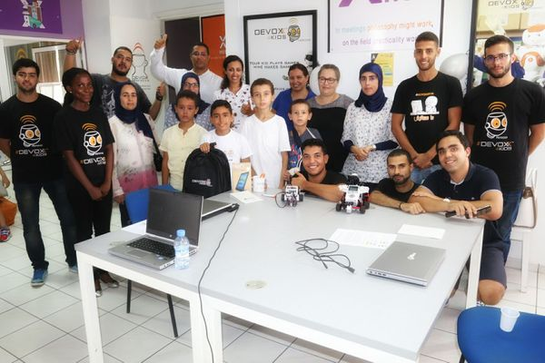 Devoxx4Kids Morocco, a great Smart Summer Camp !