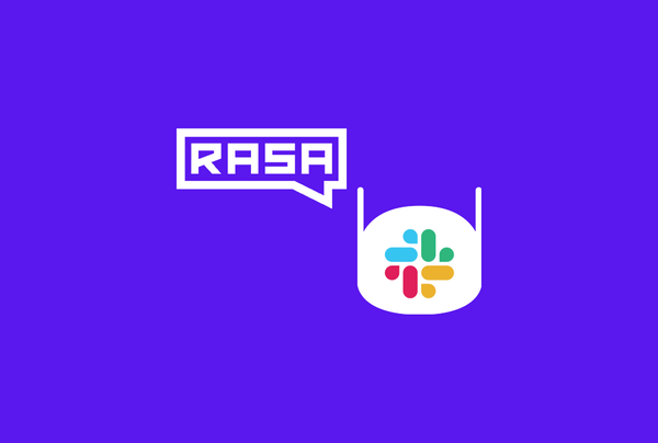 A journey to build and deploy your chatbot with Rasa and Slack